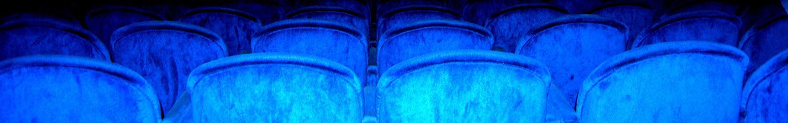 Butacas del teatro vacías