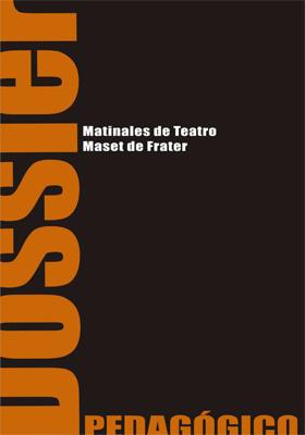 Portada del dossier pedagógico en español