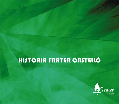 Portada del cuaderno: Historia Frater Castelló