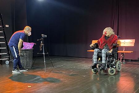 Grabación el cortometraje
