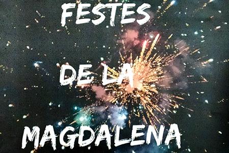 Cartel de las Fiestas de la Magdalena