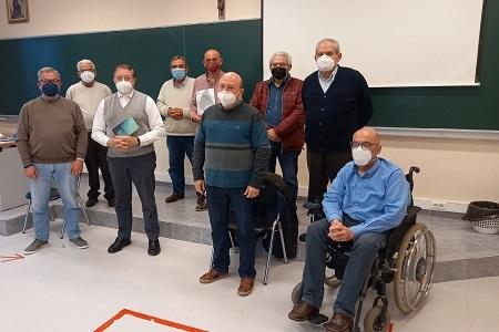 Presentación de Frater a un grupo de Diáconos Permanentes en el seminario